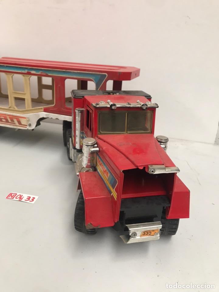Juguetes antiguos Gozán: Camión gozan - Foto 2 - 195133003
