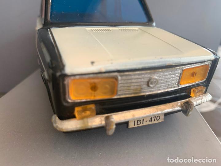 Juguetes antiguos Gozán: SEAT 1430 POLICIA JUGUETES VERCOR AÑOS 70 - Foto 6 - 199520466