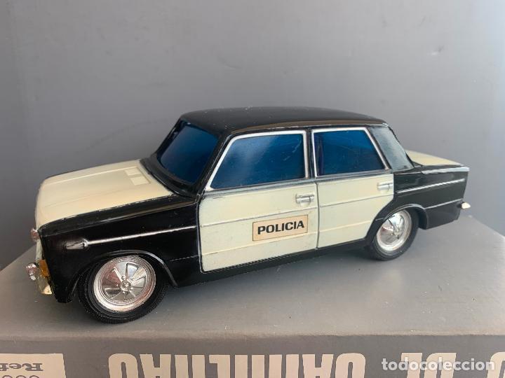 SEAT 1430 POLICIA JUGUETES VERCOR AÑOS 70 (Juguetes - Marcas Clásicas - Gozán)