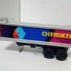 Brinquedos antigos Gozán: REMOLQUE BAÑERA GOZAN CHEEROKEE. Lote 200182593