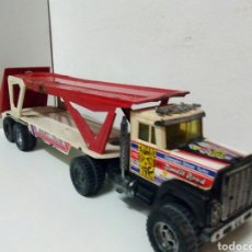 Juguetes antiguos Gozán: CAMION PORTACOCHES GOZAN SUPER BOSS. Lote 200182721