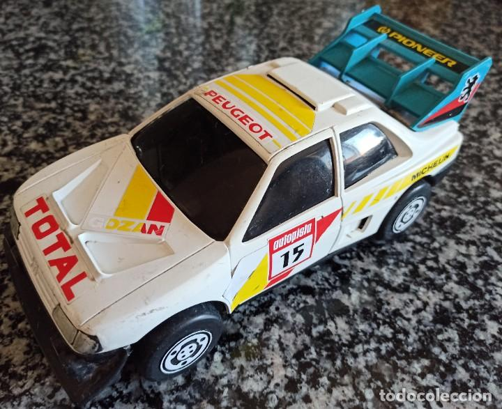Juguetes antiguos Gozán: Antiguo Coche de Juguete Peugeot 405 Rally , Marca Gozan , Made In Spain - Foto 1 - 217596860