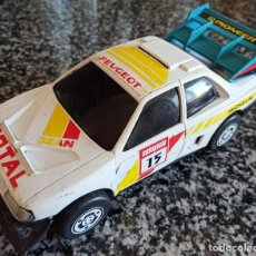 Juguetes antiguos Gozán: ANTIGUO COCHE DE JUGUETE PEUGEOT 405 RALLY , MARCA GOZAN , MADE IN SPAIN. Lote 217596860