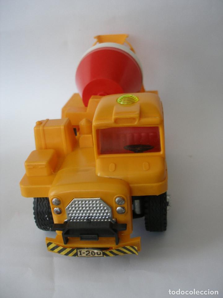 Juguetes antiguos Gozán: Camión hormigonera Gozan ( 24 cm ) nº 265 años 70 en caja sin uso - Foto 4 - 223908465