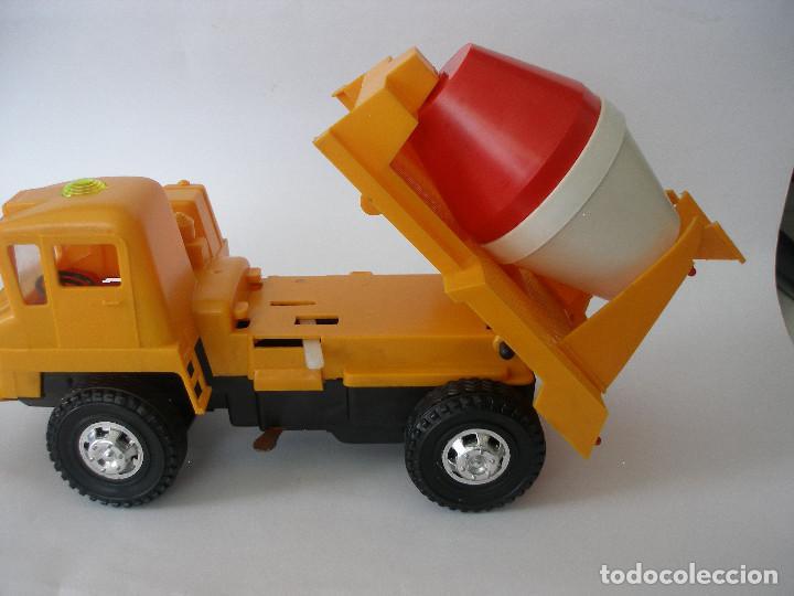 Juguetes antiguos Gozán: Camión hormigonera Gozan ( 24 cm ) nº 265 años 70 en caja sin uso - Foto 6 - 223908465