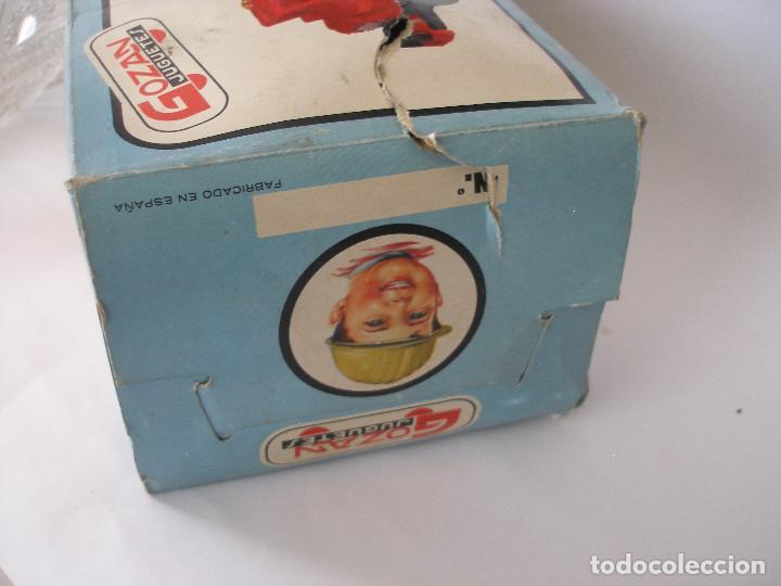Juguetes antiguos Gozán: Camión hormigonera Gozan ( 24 cm ) nº 265 años 70 en caja sin uso - Foto 13 - 223908465