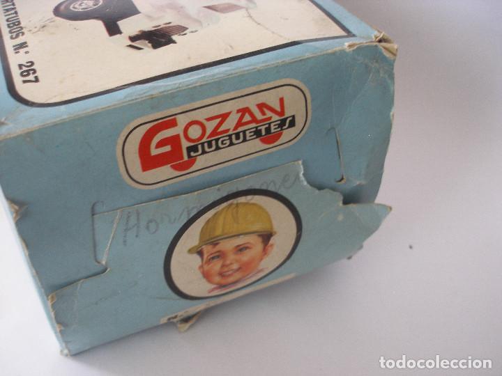 Juguetes antiguos Gozán: Camión hormigonera Gozan ( 24 cm ) nº 265 años 70 en caja sin uso - Foto 14 - 223908465