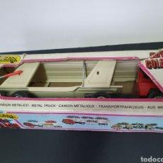 Brinquedos antigos Gozán: GOZAN, CAMION CON CAJA. SERIE COLOSO.. Lote 224222371
