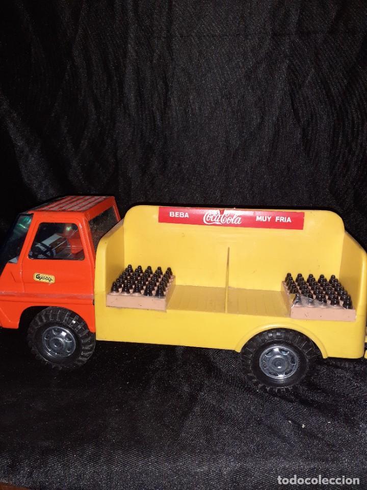 Juguetes antiguos Gozán: Camion gozan coca cola - Foto 2 - 224577026