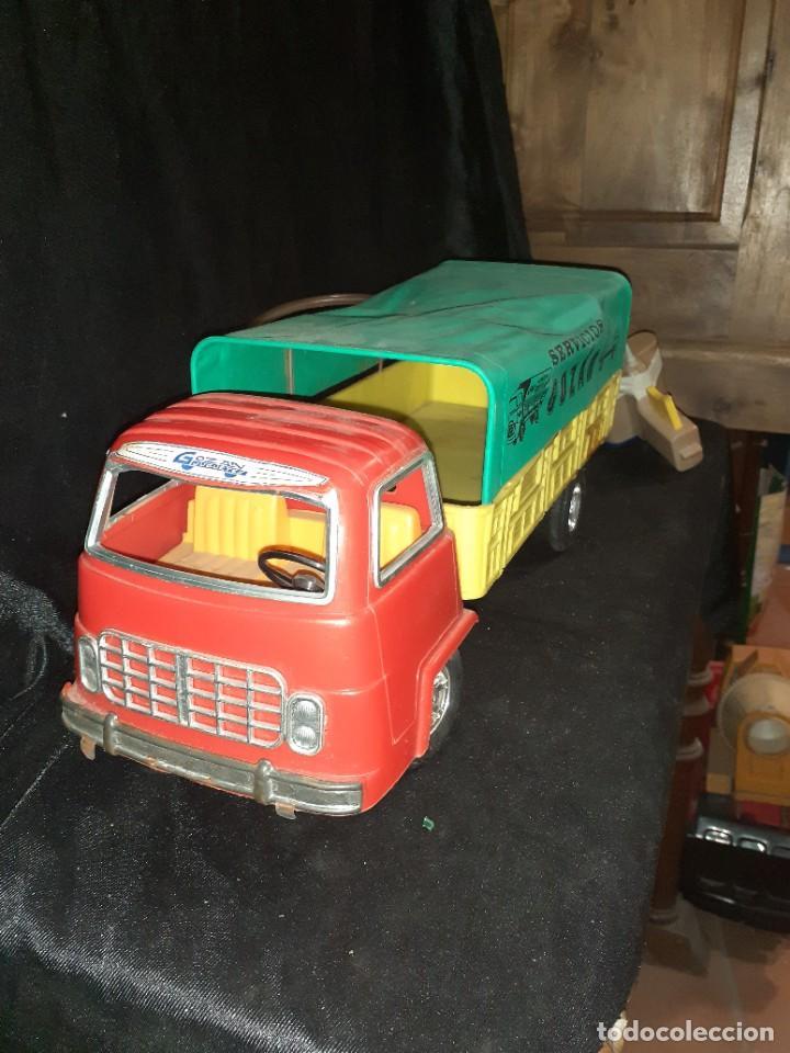 Juguetes antiguos Gozán: Camion gozan - Foto 2 - 226765780