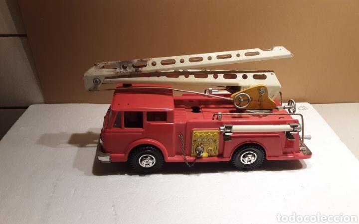 Juguetes antiguos Gozán: Camión bomberos Gozan - Foto 2 - 233838180