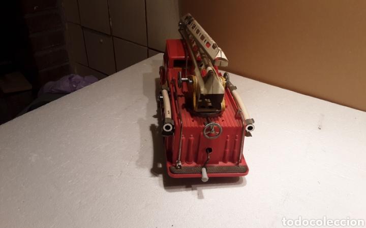 Juguetes antiguos Gozán: Camión bomberos Gozan - Foto 3 - 233838180