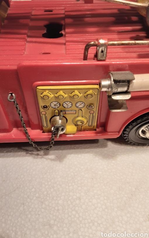 Juguetes antiguos Gozán: Camión bomberos Gozan - Foto 5 - 233838180