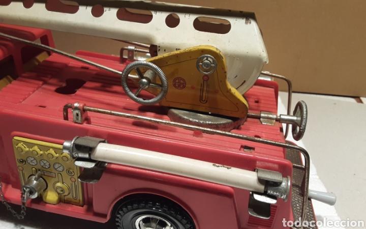 Juguetes antiguos Gozán: Camión bomberos Gozan - Foto 8 - 233838180