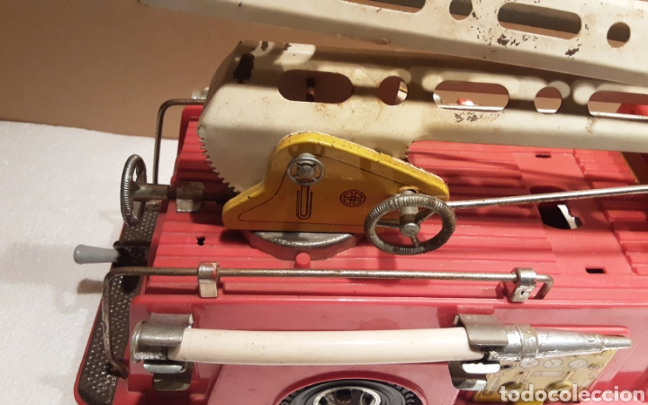 Juguetes antiguos Gozán: Camión bomberos Gozan - Foto 9 - 233838180