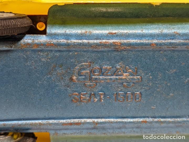 Juguetes antiguos Gozán: LOTE TRES COCHES GOZÁN - SEAT 1500 - VINTAGE AÑOS 60 - Foto 5 - 234485930