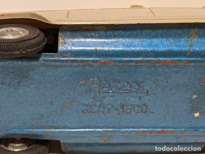 Juguetes antiguos Gozán: LOTE TRES COCHES GOZÁN - SEAT 1500 - VINTAGE AÑOS 60 - Foto 14 - 234485930