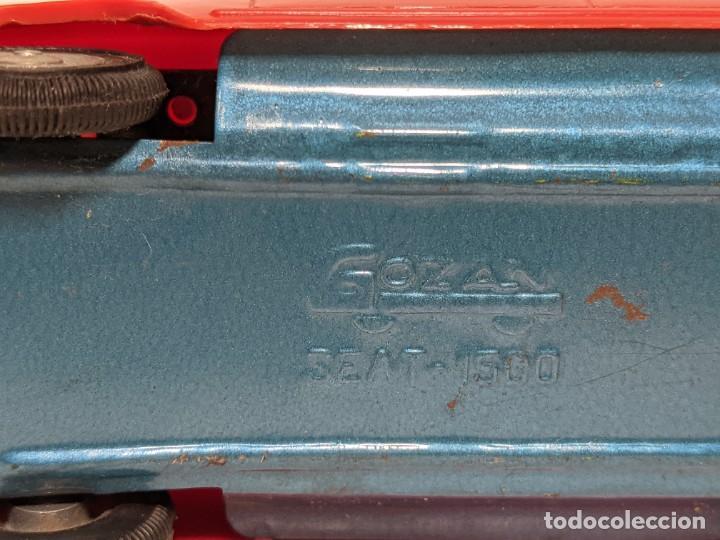 Juguetes antiguos Gozán: LOTE TRES COCHES GOZÁN - SEAT 1500 - VINTAGE AÑOS 60 - Foto 22 - 234485930