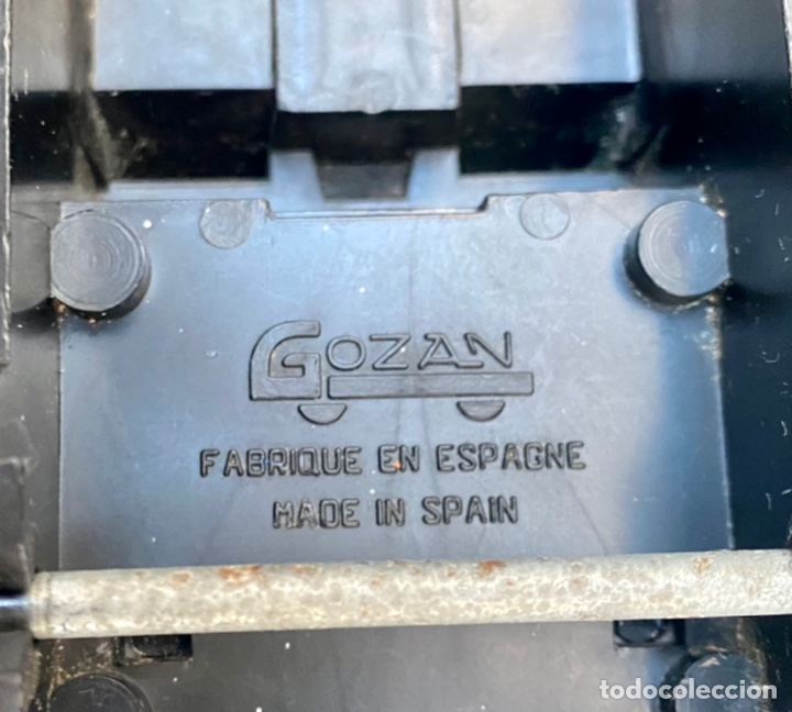 Juguetes antiguos Gozán: GOZÁN. Coche Assistance 24 Hours Gozán hojalata - Foto 12 - 235586230
