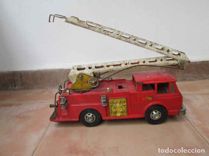 Juguetes antiguos Gozán: Antiguo Camión de Bomberos de Gozan - Foto 2 - 239660185