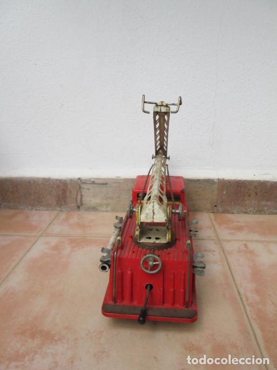 Juguetes antiguos Gozán: Antiguo Camión de Bomberos de Gozan - Foto 4 - 239660185