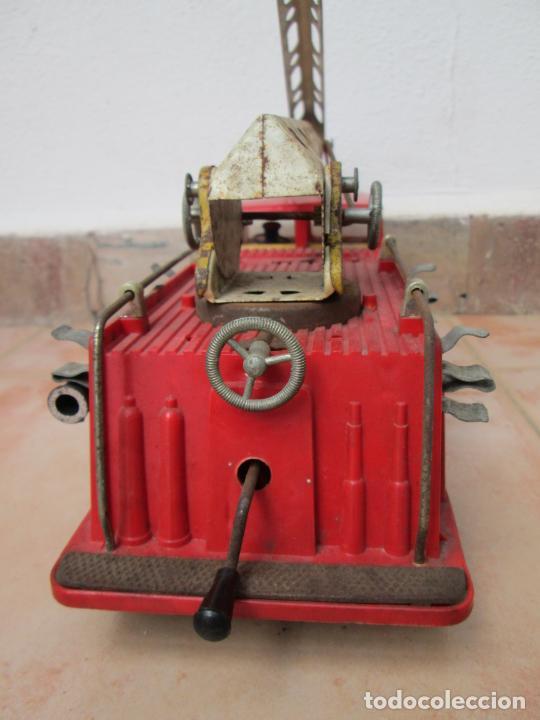 Juguetes antiguos Gozán: Antiguo Camión de Bomberos de Gozan - Foto 5 - 239660185