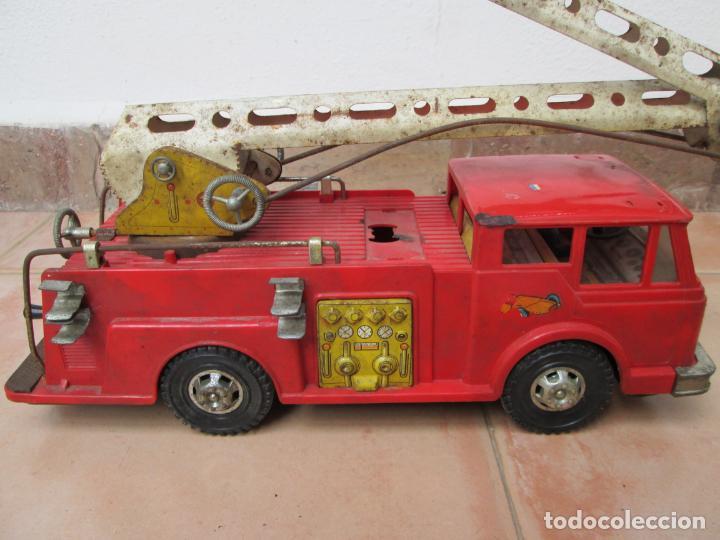 Juguetes antiguos Gozán: Antiguo Camión de Bomberos de Gozan - Foto 6 - 239660185