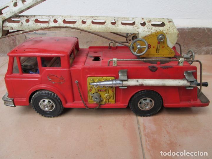 Juguetes antiguos Gozán: Antiguo Camión de Bomberos de Gozan - Foto 7 - 239660185