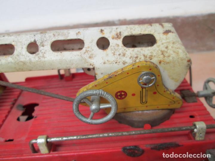 Juguetes antiguos Gozán: Antiguo Camión de Bomberos de Gozan - Foto 10 - 239660185