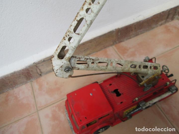 Juguetes antiguos Gozán: Antiguo Camión de Bomberos de Gozan - Foto 12 - 239660185