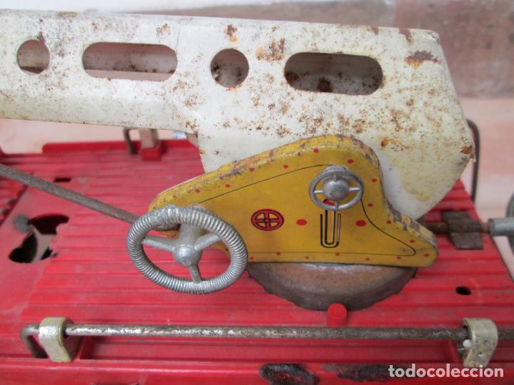 Juguetes antiguos Gozán: Antiguo Camión de Bomberos de Gozan - Foto 14 - 239660185