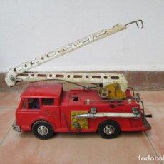 Juguetes antiguos Gozán: ANTIGUO CAMIÓN DE BOMBEROS DE GOZAN. Lote 239660185