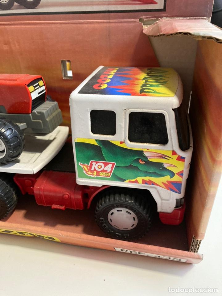 Juguetes antiguos Gozán: Camión Cobra Trak-Tor gozan con tractor - Foto 3 - 241165835