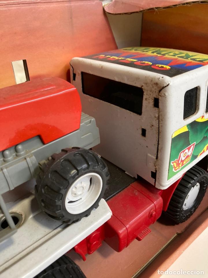 Juguetes antiguos Gozán: Camión Cobra Trak-Tor gozan con tractor - Foto 7 - 241165835
