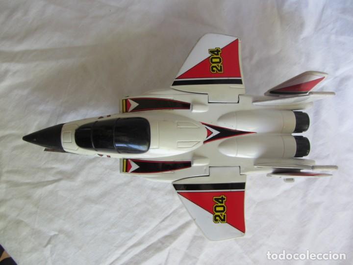 Juguetes antiguos Gozán: Avión caza 204 de Gozán fabricado en España - Foto 2 - 255568935