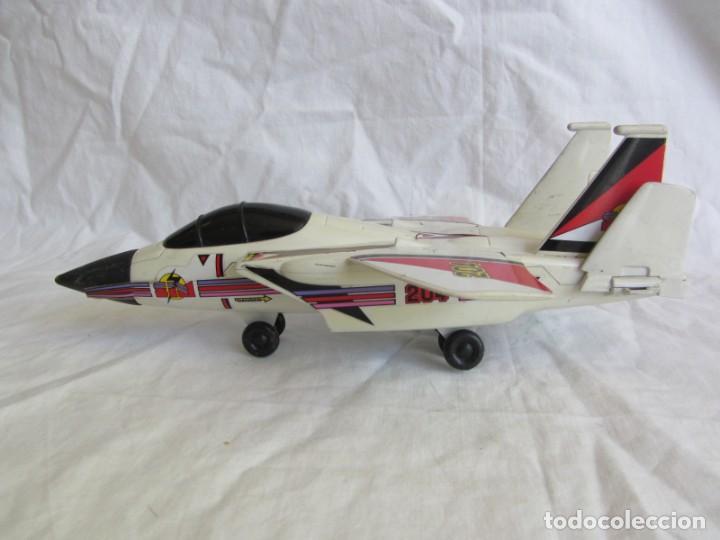 Juguetes antiguos Gozán: Avión caza 204 de Gozán fabricado en España - Foto 5 - 255568935