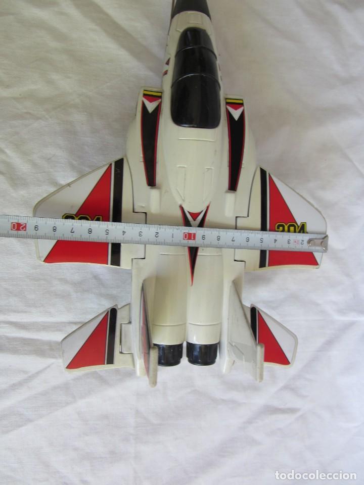 Juguetes antiguos Gozán: Avión caza 204 de Gozán fabricado en España - Foto 13 - 255568935