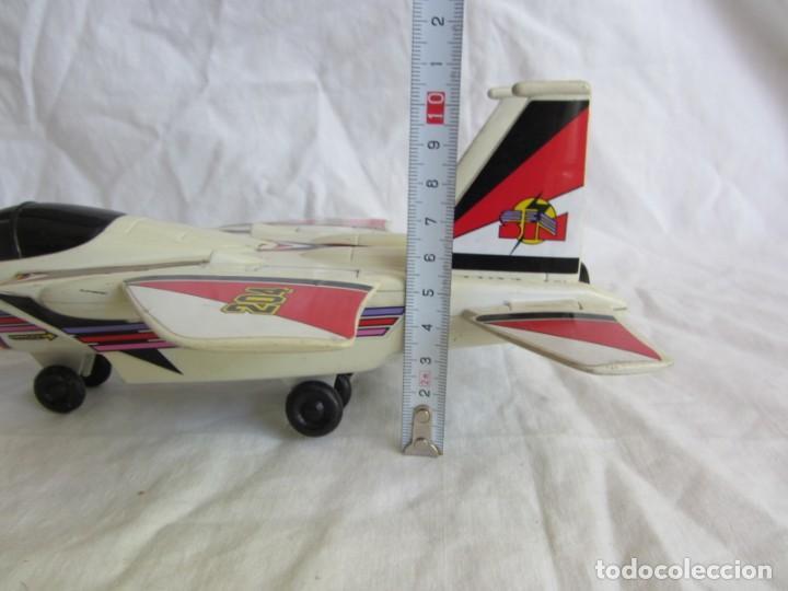 Juguetes antiguos Gozán: Avión caza 204 de Gozán fabricado en España - Foto 14 - 255568935