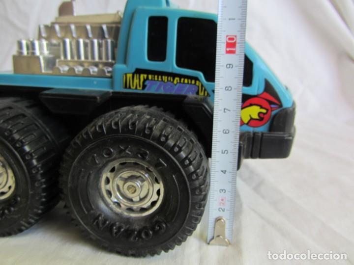 Juguetes antiguos Gozán: Camión Tiger de gozán fabricado en España - Foto 11 - 255569125