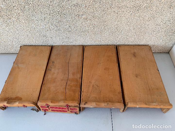 Juguetes antiguos Gozán: CAMION PEGASO Z-202 4 CAJAS DE CARGA MOLTÓ AÑOS 50 - Foto 7 - 255984680