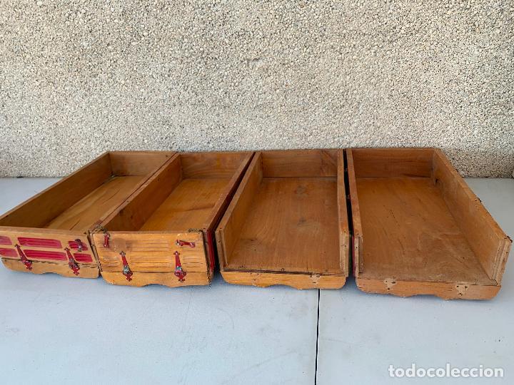 Juguetes antiguos Gozán: CAMION PEGASO Z-202 4 CAJAS DE CARGA MOLTÓ AÑOS 50 - Foto 8 - 255984680