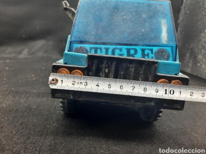Juguetes antiguos Gozán: Antiguo camión grúa Tigre de gozán - Foto 12 - 255994595