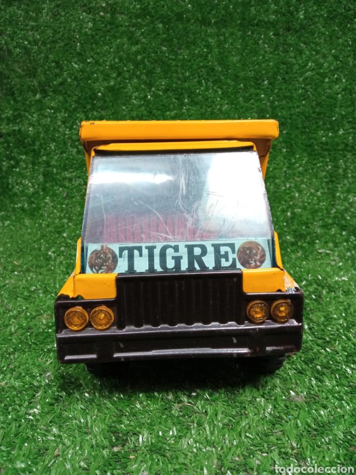 Juguetes antiguos Gozán: Camion chapa Tigre de Gozan volquete dumper made in Spain - Foto 4 - 257403505