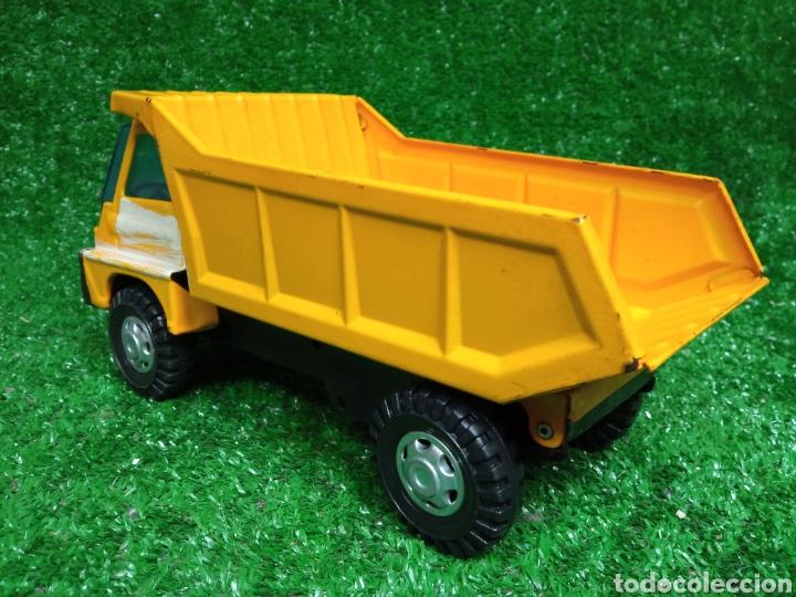 Juguetes antiguos Gozán: Camion chapa Tigre de Gozan volquete dumper made in Spain - Foto 5 - 257403505