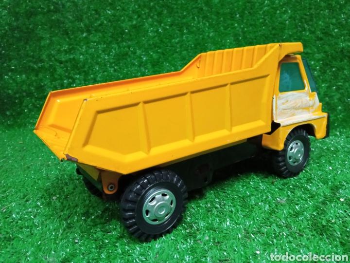Juguetes antiguos Gozán: Camion chapa Tigre de Gozan volquete dumper made in Spain - Foto 6 - 257403505