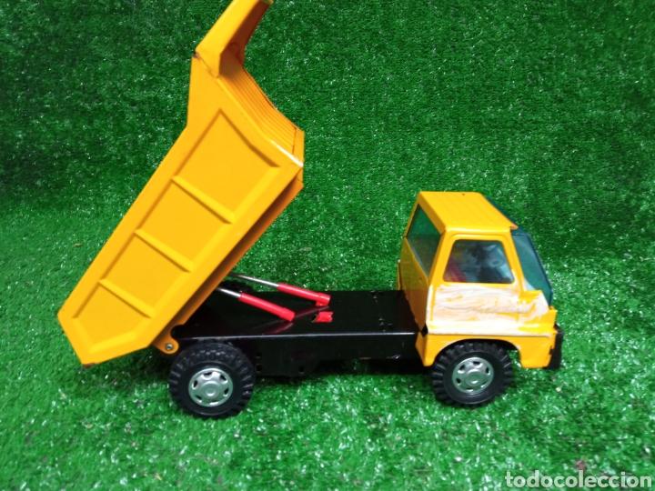 Juguetes antiguos Gozán: Camion chapa Tigre de Gozan volquete dumper made in Spain - Foto 8 - 257403505