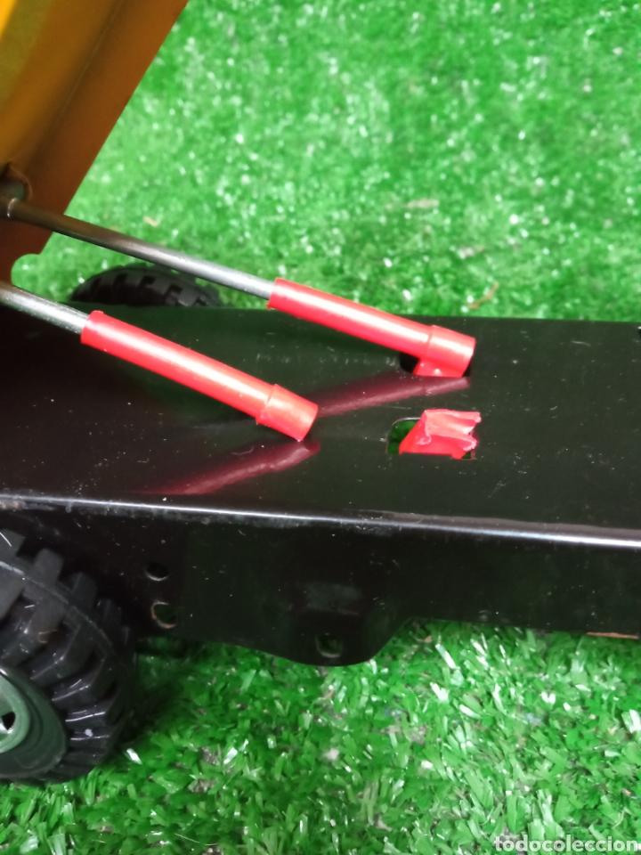 Juguetes antiguos Gozán: Camion chapa Tigre de Gozan volquete dumper made in Spain - Foto 9 - 257403505