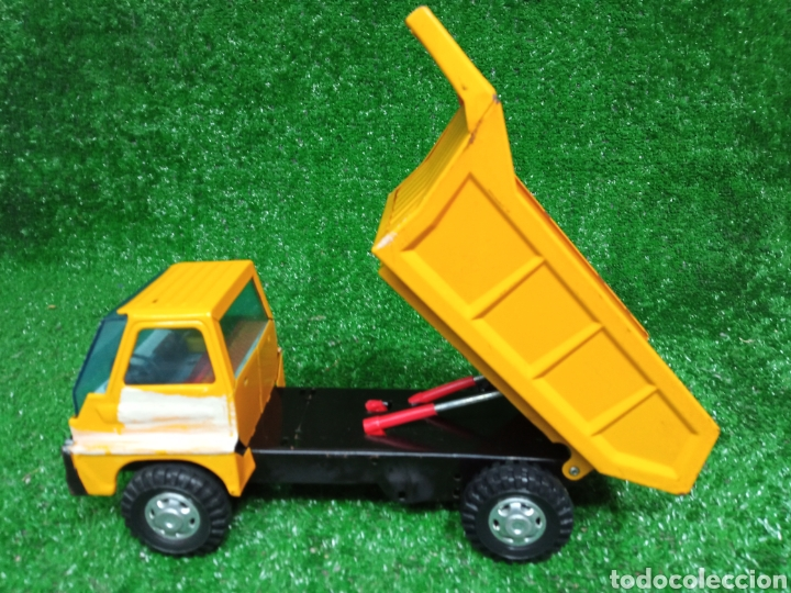 Juguetes antiguos Gozán: Camion chapa Tigre de Gozan volquete dumper made in Spain - Foto 10 - 257403505