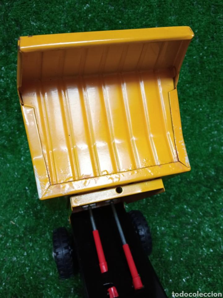 Juguetes antiguos Gozán: Camion chapa Tigre de Gozan volquete dumper made in Spain - Foto 13 - 257403505