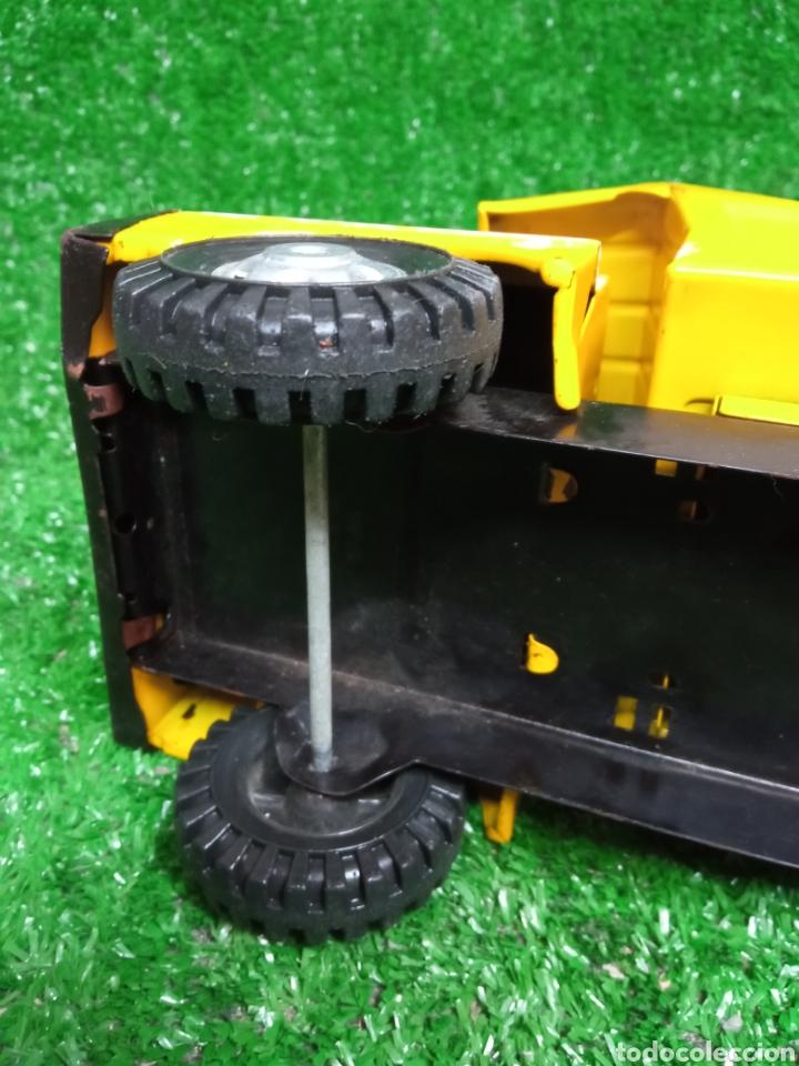 Juguetes antiguos Gozán: Camion chapa Tigre de Gozan volquete dumper made in Spain - Foto 15 - 257403505